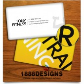 FITNESS TRAINING BUSINESS CARD
