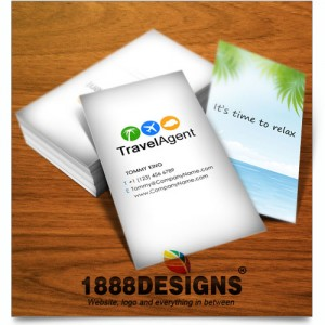 Travel agent business card colourmoves Image collections