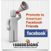PROMOTE YOUR WEBSITE TO 4300 AMERICAN FACEBOOK FRIENDS