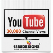 30,000 UNIQUE VIEWS FOR YOUR YOUTUBE CHANNEL