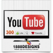 300 YOUTUBE LIKES AND FAVORITES