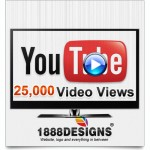 25,000 UNIQUE YOUTUBE VIDEO VIEWS