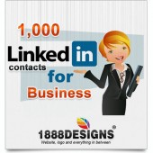 1,000 LINKEDIN CONTACTS FOR BUSINESS