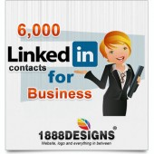 6,000 LINKEDIN CONTACTS FOR BUSINESS
