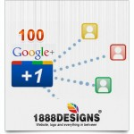 100 GOOGLE PLUS ONE
