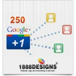 250 GOOGLE PLUS ONE