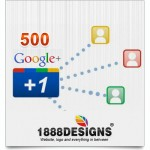 500 GOOGLE PLUS ONE