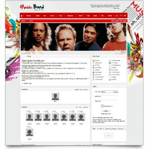 WORLD MUSIC BAND ONLINE COMMUNITY SITE