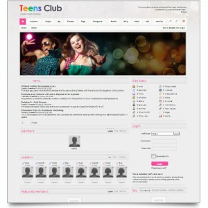 TEENAGERS CLUB ONLINE COMMUNITY SITE
