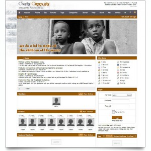CHILDREN CHARITY ONLINE COMMUNITY SITE