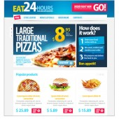 24-HOURS FASTFOOD RESTAURANT